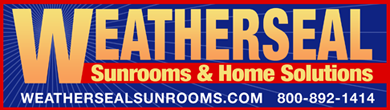 Weatherseal Sunrooms and Home Solutions Logo