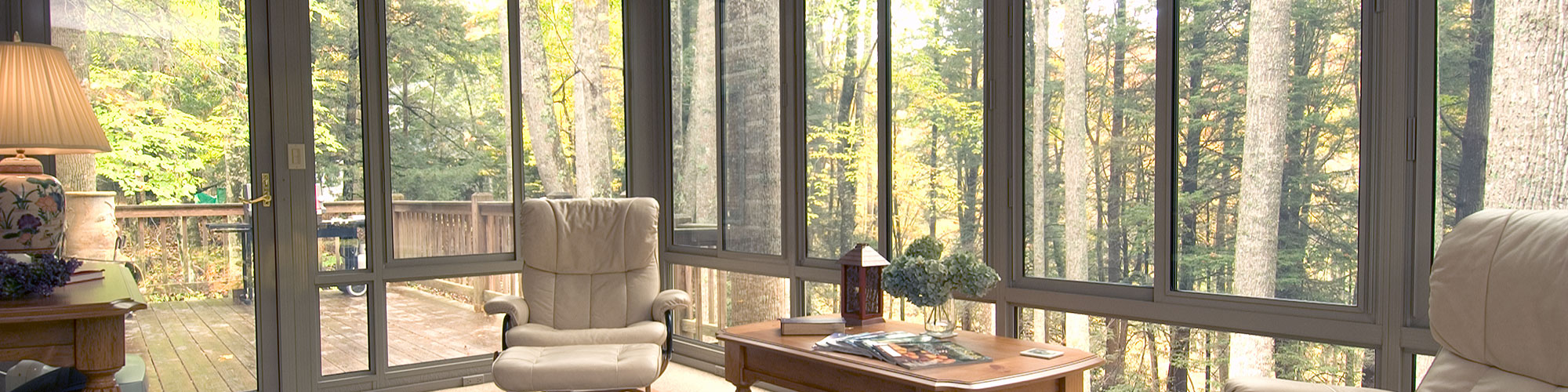 Sunroom glass weatherseal sunrooms and home solutions for Glass block r value